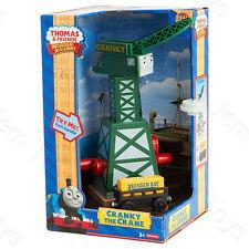 Thomas The Tank Engine Cranky Crane Truck & Cargo Wooden Railway Track Y4368