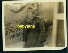 RAMON NOVARRO VINTAGE 8X10 PHOTO IN BOMBER JACKET & GOGGLES 1932 MATA HARI MGM