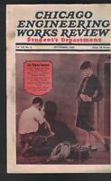 Chicago Engineering Works Review Student's Department September 1926
