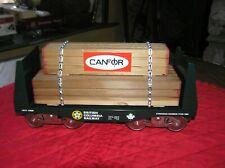 McCoy Standard Gauge British Canadian Railway Car/For Lumber Car TTOS 1983