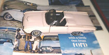 FRANKLIN MINT 1:43 SCALE 1962 THUNDERBIRD ROADSTER  MINT IN BOX !!