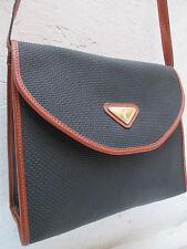 -AUTHENTIQUE sac à main  YVES SAINT LAURENT cuir TBEG vintage bag 70's