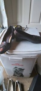 K By Clarks Brown Leather Shoes Size 4.5