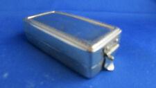 ancien petit réchaud portable en metal argenté epoque 1940 st LXVI