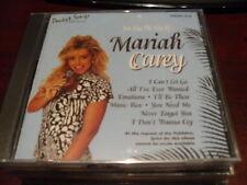 POCKET SONGS KARAOKE DISC PSCDG 1216 MARIAH CAREY CD+G MULTIPLEX