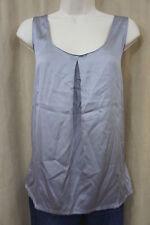Alfani Intimates Sleep Shirt Sz XS Dust Grey Rayon Back Pajama Top Sleepwear