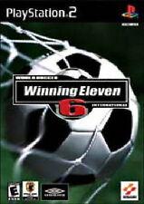WORLD SOCCER WINNING ELEVEN 6 (PRO EVOLUTION SOCCER) PS2 GAME *NEW* AUS EXPRESS