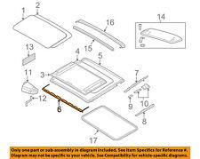 BMW OEM 08-13 128i-Sunroof Wind Air Deflector 54137145886