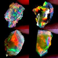 SUPER QUALITY 100% NATURAL EXCLUSIVE POWER ETHIOPIAN OPAL ROUGH AC125 +AC93