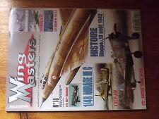 $$2 Revue Wing Masters N°18 Dieppe 1942  Mirage III C  P-40 E  Hurricane MK IIC