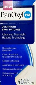 PANOXYL PM OVERNIGHT SPOT PATCHES, 40 SINGLE USE CLEAR PATCHES