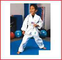 ProForce 5 oz White TKD Student Uniform w/ White Belt Taekwondo Karate Gi Pant