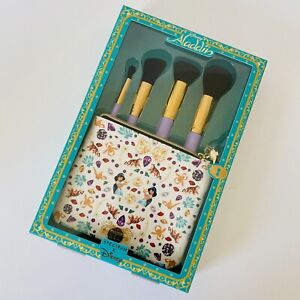 Official Disney Aladdin Jasmine Make up Brushes & Bag Quality Gift Set -Spectrum