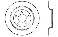 Centric Parts 121.45065 Rear Disc Brake Rotor
