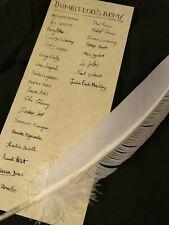 Dumbledore's Army List Members Prop Replica Harry Potter