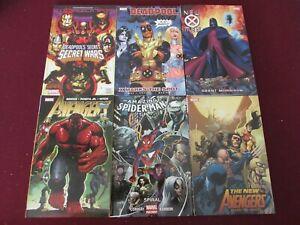 Marvel Graphic Novel Lot of 12 (NEW) $281 Retail Value!! Deadpool, X-Men & more!