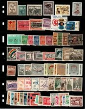 Latin America mostly mint sets and singles (some Nh) - Catalog Value $82.15