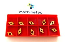 MACHINETEC 10pcs DCMT070204 Carbide Inserts DCMT0702 Carbide Cutter For Turning