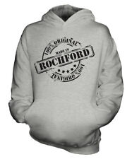 MADE IN ROCHFORD UNISEX KIDS HOODIE BOYS GIRLS CHILDREN TODDLER GIFT CHRISTMAS