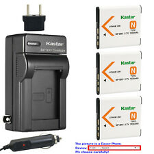 Kastar Battery Travel Charger for Sony NP-BN1 BC-CSN & Sony Cyber-shot DSC-TX1