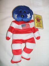 BEANIE KIDS INDEPENDENCE THE AMERICAN BEAR - BK146 RARE MWMT!!!