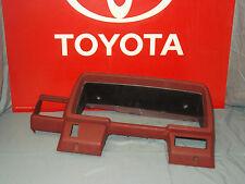 84 85 86 87 88 Toyota Pickup Truck 4Runner INSTRUMENT CLUSTER RED BEZEL DASH