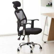 Mesh Chair Ergonomic Executive Swivel Office Chair Computer Desk Black