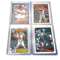1988 1989 Donruss Topps Baseball 4 Card Lot Cal Ripken Baltimore Orioles NM-MT