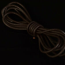 Real Nappa Cowhide Leather Cord Round String Colorful Handmade Accessories