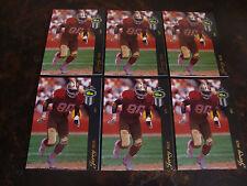 1993 Classic Four-Sport---Football---McDonald's---#10 Jerry Rice--Lot Of 6--NrMt