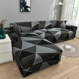 Sofa Covers Elastic Couch Cover Stretch Sofa Towel L shape Corner Sofa Slipcover