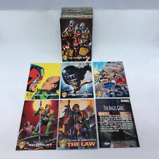 JUDGE DREDD: THE EPICS (COMIC BOOK ART) Complete Trading Card Set from 1995