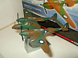 Corgi Aviation AA36606 Lockheed F-4-1 LO Lightning, 1st PRU, RAAF in 1:72 Scale