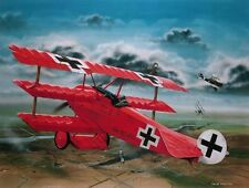 Revell 1:28 Fokker Dr. I Red Baron Plastic Model Kit 04744 RVL04744