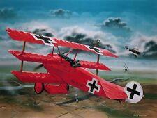 Revell 1:28 Fokker Dr. I Red Baron Plastic Model Kit 04744 RVL04744