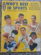 Who's Best in Sports, Vintage 1959