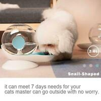 Automatic Pet WaterDispenser Dog Cat Snail Shaped Waterer Water Feeder Tool K1I1