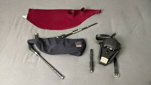 Scottish Smallpipes with Bellows by Carbony Celtic Winds, with Case & Reeds