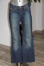 carino jeans bootcut denim donna GUESS TAGLIA W27 in eccelenti condizioni