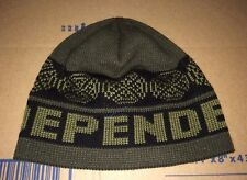 Independent Truck Company skateboard WOVEN Cross Logo Beanie hat Thrasher DC Dqm