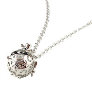 Perfume Locket Necklace Fragrance Essential Oil Diffuser Pendant Sweater Jewelry