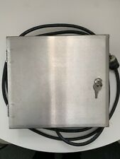 Carwash Weep Line Stainless Box With Components Working