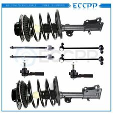 Front Complete Strut + 6pc Suspension Kit For 01-07 Town & Country Voyager