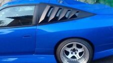 NISSAN 200SX S13 rear quarter window louvers NO3