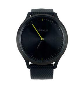 Garmin Vivomove HR Sport Hybrid Smartwatch - Black - 010-01850-11