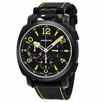 Anonimo Men's Militare Chronograph Swiss Automatic Leather Watch AM110002004A01