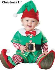 Cute Infant Baby Christmas Costume Toddler Suit Cosplay Xmas Party Clothing Gift