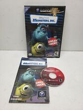 Monsters Inc. Scream Arena (Nintendo GameCube, 2002) Complete