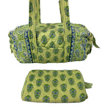 Vera Bradley Handbag Citrus Elephant Purse And Wallet Set Retired Pattern
