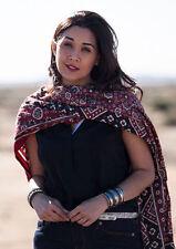 NEW MENS WOMENS UNISEX AJRAK SINDHI CULTURAL PAKISTAN SHAWL SCARF CHADAR COTTON